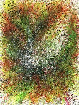 Brain Painting - Fall Equinox In Lemuria #505 by Rainbow Artist Orlando L aka Kevin Orlando Lau