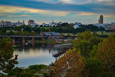 Fall Evening In Richmond Art Print