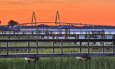 Photograph - Fall Evening On Sullivan's Island by Donnie Whitaker