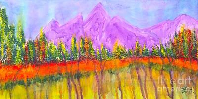 Painting - Fall Falling by Wonju Hulse