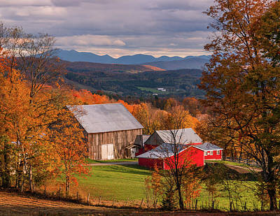 Photograph - Fall Farm by Tim Kirchoff