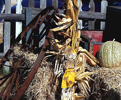 Photograph - Fall Farmhouse Decor by Sheila Brown