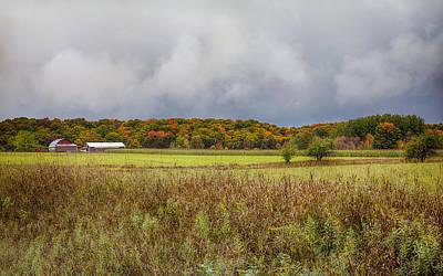 Photograph - Fall Farmland by John M Bailey