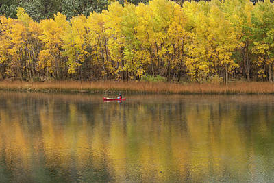 Photograph - Fall Fishing by Duncan Selby