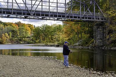 Photograph - Fall Fishing by Fran Gallogly