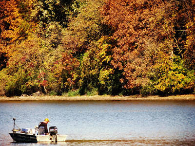 Photograph - Fall Fishing by Kyle West