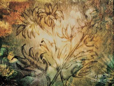 Photograph - Fall Floral by Maria Urso