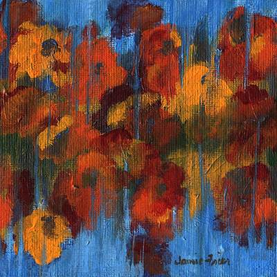 Painting - Fall Flowers by Jamie Frier