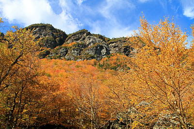 Photograph - Fall Foliage At Smugglers Notch by Dan Sproul