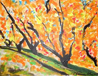 Painting - Fall Foliage by Esther Newman-Cohen