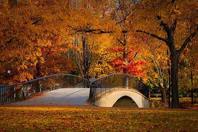 Sports Illustrated Covers - Fall Foliage In Boston by Andrei Anca