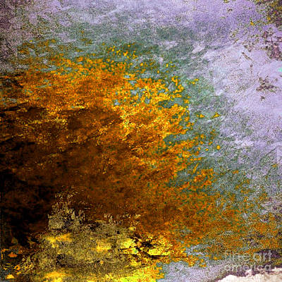 Digital Art - Fall Foliage by John Krakora