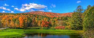 Photograph - Fall Foliage by Pat Moore