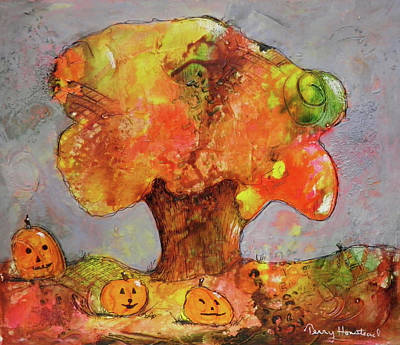 Painting - Fall Fun by Terry Honstead