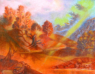 Pastel - Fall by Gary Renegar
