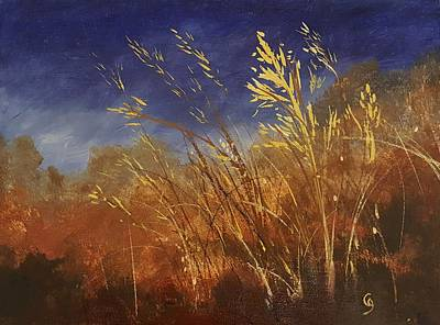 Painting - Fall Grass           53 by Cheryl Nancy Ann Gordon