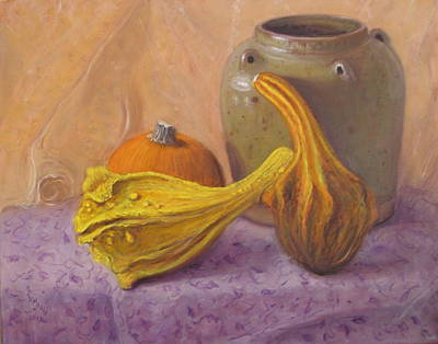 Painting - Fall Harvest #4 by Donelli  DiMaria