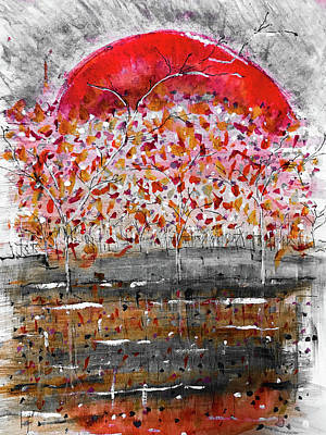 Mixed Media - Fall-iage  by Jason Nicholas