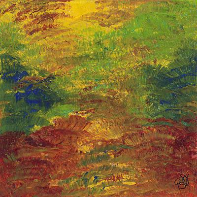 Fall Impressions Art Print by Patty Vicknair
