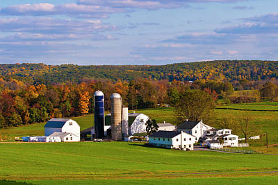 Photograph - Fall In Amish Country by Lou Ford