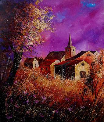 Roaring Red - Fall in Ardennes  by Pol Ledent