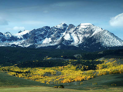 Fall In Colorado Art Print
