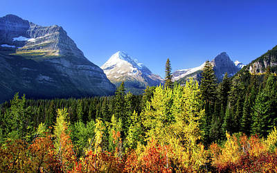 Photograph - Fall In Glacier National Park by Carolyn Derstine