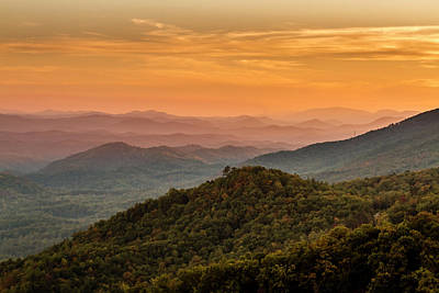 Photograph - Fall In Great Smoky Mountains National Park by Teri Virbickis