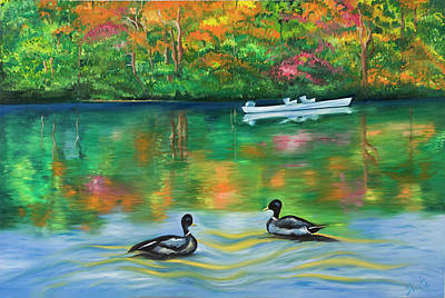 Painting - Fall In Love by Sweta Prasad