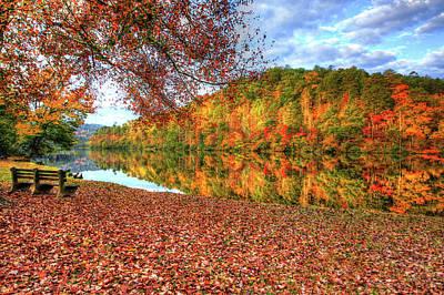 Digital Art - Fall In Murphy, North Carolina by Sharon Batdorf