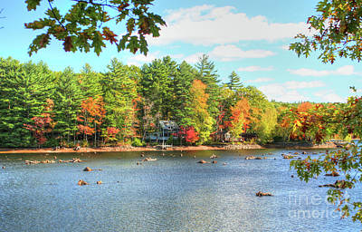 Photograph - Fall In New England by LaRoque Photography