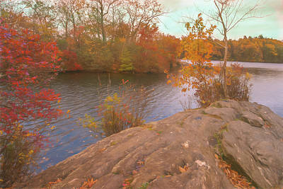 Photograph - Fall In New England. Mother Nature Show Off. by Rusty R Smith