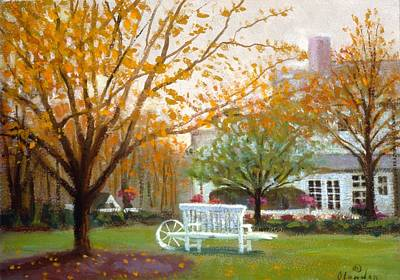 Fall In Nj Art Print by David Olander