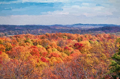 Photograph - Fall In Oklahoma by Victor Culpepper
