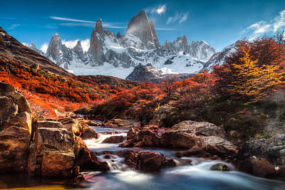 Photograph - Fall In Patagonia by Walt Sterneman