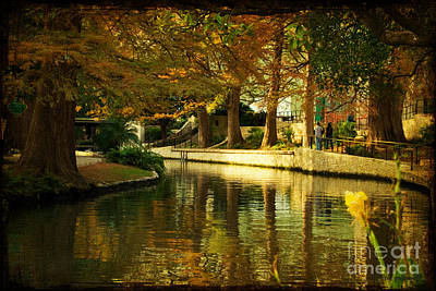 Fall In San Antonio Art Print by Iris Greenwell