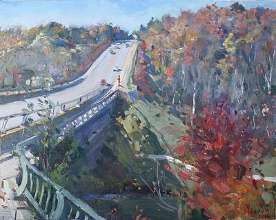 Georgetown Wall Art - Painting - Fall In Silver Creek Georgetown  by Ylli Haruni