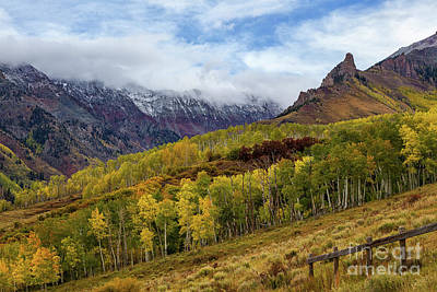 Photograph - Fall In Telluride by Ronda Kimbrow