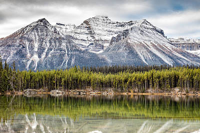 Art Print featuring the photograph Fall In The Canadian Rockies by Pierre Leclerc Photography