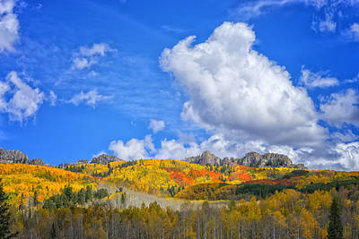 Photograph - Fall In The Colorado Rockies Dsc07378 by Greg Kluempers