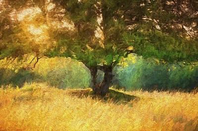 Fall In The Meadow Art Print by Rena Trepanier