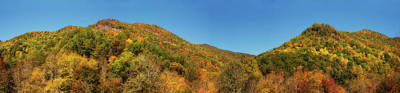 Photograph - Fall In The Mountains Panorama by Jill Lang
