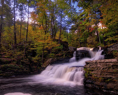 Photograph - Fall In The Poconos by Jim Cheney