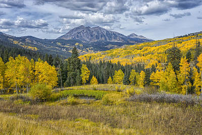 Photograph - Fall In The Rockies Colorado Dsc07164-5 by Greg Kluempers