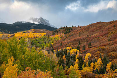 Photograph - Fall In The Rockies by Steve Stuller