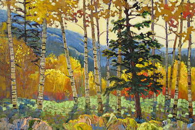 Painting - Fall In The San Juans by Susan McCullough