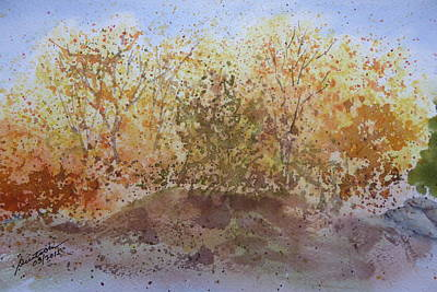 Painting - Fall In The Tejas High Country by Joel Deutsch