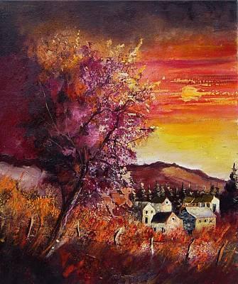 Fall In Villers Art Print by Pol Ledent