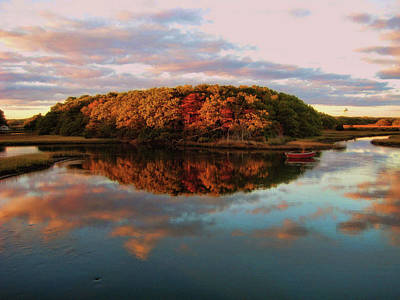 Fall In Wellfleet Art Print