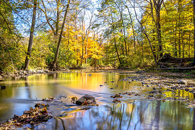 Photograph - Fall In Wisconsin by Steven Santamour